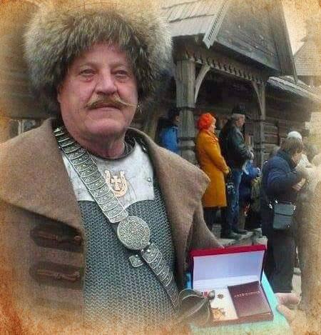 Юрій Капішинський, засновник кінного театру «Запорозькi козаки»